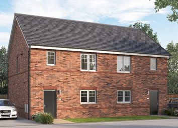 "Thumbnail 3 bed semi-detached house for sale in ""The Queensbridge"" at St. Catherines Villas, Wakefield"