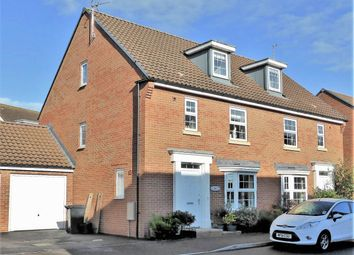 Thumbnail 4 bed end terrace house to rent in Collett Road, Norton Fitzwarren, Taunton