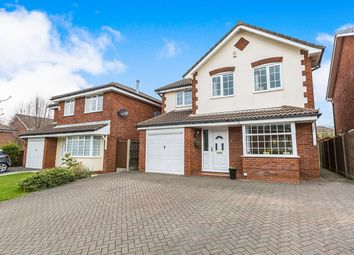 Thumbnail 4 bed detached house for sale in Springwood Close, Walton-Le-Dale, Preston