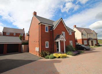 Thumbnail 4 bed detached house for sale in Avocet Road, Holmer, Hereford