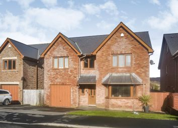 Thumbnail 4 bed detached house for sale in Rhiw Franc Place, Pontypool