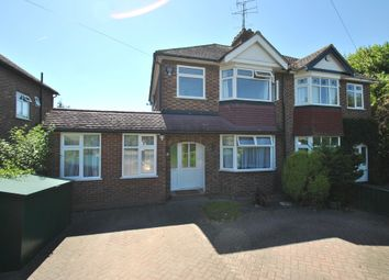 Thumbnail 4 bed semi-detached house to rent in Queenswood Drive, Hitchin