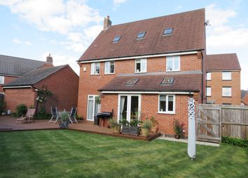 Thumbnail 5 bed detached house for sale in Anglia Drive, Church Gresley, Swadlincote