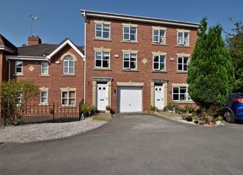 Thumbnail 3 bed town house for sale in Herons Wharf, Appley Bridge, Wigan