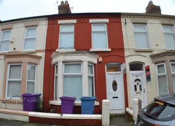 Thumbnail 1 bedroom terraced house for sale in Langton Road, Wavertree, Liverpool