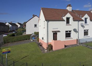 Thumbnail 3 bed semi-detached house for sale in Alligan Road, Crieff