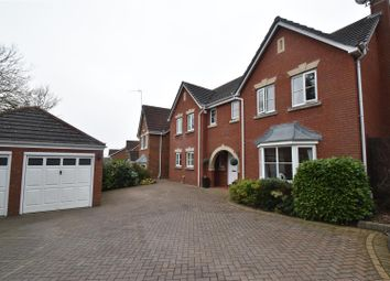 Thumbnail 4 bed detached house for sale in Rockingham Lane, Warndon, Worcester