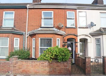 Thumbnail 3 bedroom terraced house for sale in St Margarets Road, Lowestoft, Suffolk