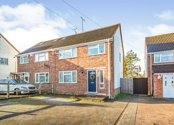 Thumbnail 3 bed semi-detached house for sale in Chanctonbury Road, Burgess Hill