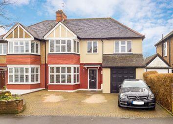 Thumbnail 5 bed semi-detached house for sale in Wickham Avenue, Cheam, Sutton, Surrey
