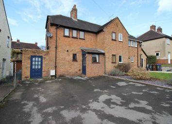 Thumbnail 2 bed semi-detached house for sale in Selborne Road, Leek, Staffordshire