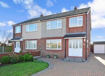 Thumbnail 3 bed semi-detached house for sale in Broadlands Avenue, New Romney, Kent