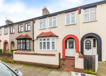 Thumbnail 3 bedroom terraced house for sale in Roman Road, Upton Park, London
