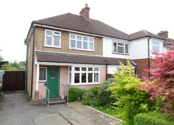 Thumbnail 3 bed semi-detached house for sale in Warren Road, New Haw