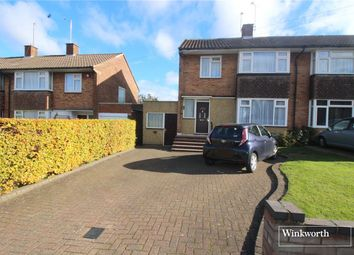 Thumbnail 3 bedroom semi-detached house for sale in Bullhead Road, Borehamwood, Hertfordshire