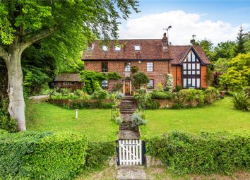 Thumbnail 5 bed detached house for sale in Hogtrough Hill, Brasted, Westerham