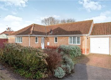 Thumbnail 4 bed detached bungalow for sale in Whatley Close, Elmswell, Bury St. Edmunds