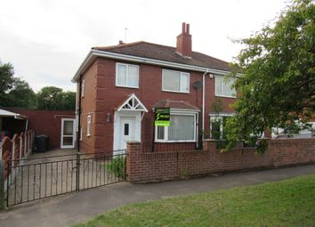 Thumbnail 3 bed semi-detached house for sale in Atlee Ave, Rossington, Doncaster