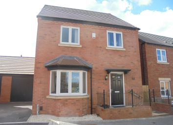 Thumbnail 4 bed detached house for sale in Lineton Close, Lawley Village, Telford