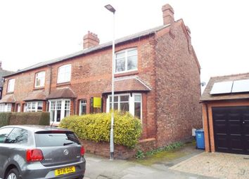 Thumbnail 3 bed end terrace house for sale in Victoria Road, Stockton Heath, Warrington, Cheshire