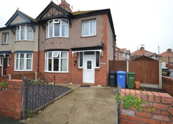 Thumbnail 3 bed semi-detached house for sale in Clifton Grove, Rhyl