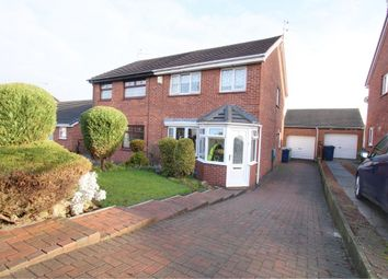 Thumbnail 3 bed semi-detached house for sale in Porthcawl Drive, Washington