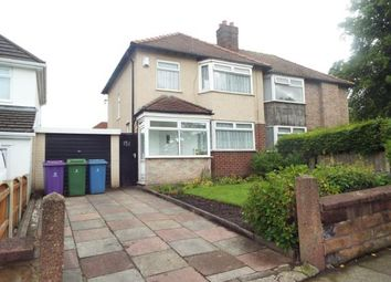 Thumbnail 3 bed semi-detached house for sale in Kings Drive, Woolton, Liverpool, Merseyside