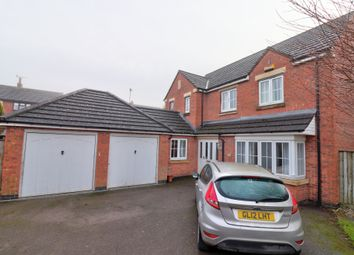 Thumbnail 4 bed detached house for sale in Woodland Drive, Rocester, Uttoxeter