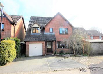 Thumbnail 4 bed detached house for sale in Nolan Close, Blunsdon, Swindon