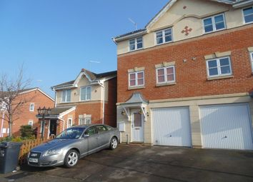 Thumbnail 3 bedroom end terrace house to rent in Brockton Street, Northampton, Northants