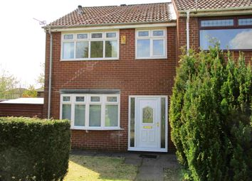 Thumbnail 3 bed end terrace house to rent in Elizabethan Walk, Plattbridge, Greater Manchester
