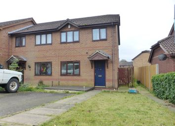 Thumbnail 3 bedroom terraced house for sale in Pimpernel Road, Horsford, Norwich