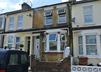 Thumbnail 3 bedroom terraced house to rent in Louisville Avenue, Gillingham, Kent