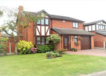 Thumbnail 4 bed detached house for sale in Meadow Croft, Cross Lanes, Wrexham