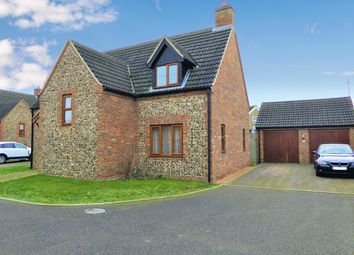 Thumbnail 4 bed detached house to rent in The Old Bakery Close, Methwold, Thetford