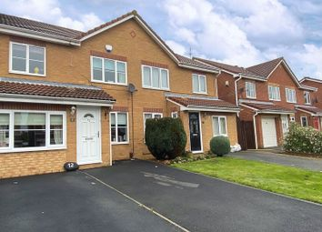 Thumbnail 3 bed terraced house for sale in Rodney Close, Brotton, Saltburn-By-The-Sea