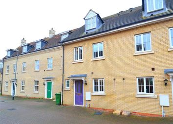 Thumbnail 3 bed town house for sale in Roman Way, Godmanchester, Huntingdon, Cambridgeshire
