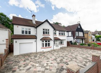 Thumbnail 5 bed detached house for sale in Woodcote Valley Road, Surrey