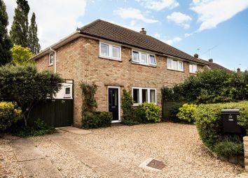 Thumbnail 3 bedroom semi-detached house for sale in Coronation Avenue, Huntingdon, Cambridgeshire.