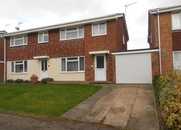 Thumbnail 3 bed semi-detached house for sale in Wellpond Close, Sharnbrook, Bedford, Bedfordshire