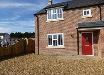 Thumbnail 3 bed semi-detached house to rent in Gull Road, Guyhirn, Wisbech