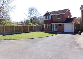 Thumbnail 4 bedroom detached house for sale in The Parkway, Shelfield, Walsall, .