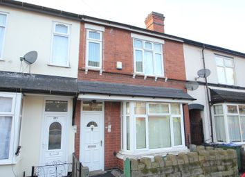 Thumbnail 3 bed terraced house to rent in Cheshire Road, Bearwood, Birmingham