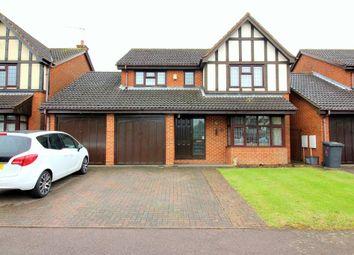 Thumbnail 4 bed detached house for sale in Rowington Close, Luton, Bedfordshire