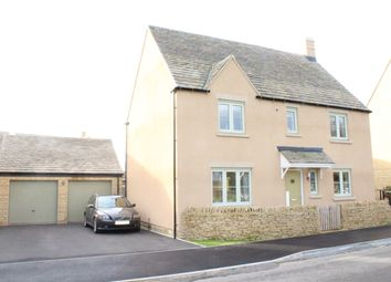 Thumbnail 5 bed detached house for sale in Morecombe Way, Fairford