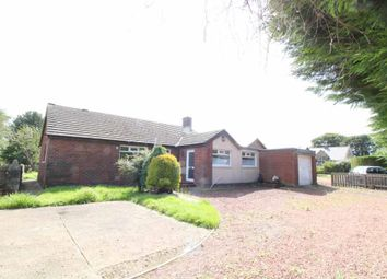 Thumbnail 3 bed detached bungalow for sale in Red Row, Morpeth, Northumberland