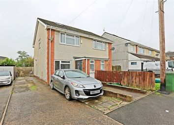 Thumbnail 3 bed semi-detached house for sale in Byron Avenue, Beddau, Pontypridd