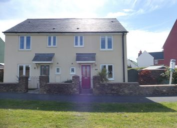 Thumbnail 3 bedroom semi-detached house for sale in Staddiscombe Road, Plymstock, Plymouth