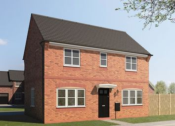 """Thumbnail 3 bedroom detached house for sale in """"The Edensor"""" at The Green, Church Street, Burbage, Hinckley"""