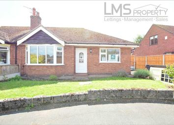 Thumbnail 2 bed bungalow to rent in Church Close, Weaverham, Northwich